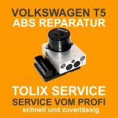 VW T5 ABS Block Reparatur 7H0907379D 7H0614111D 5WK84011 01276 04FC Pumpenmotor