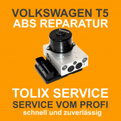 VW T5 ABS Block Reparatur 7H0907379B 7H0614111B 5WK84008 01276 04FC Pumpenmotor