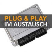 Plug&Play VW Passat 1,6 Motorsteuergerät 06A906033AT im AUSTAUSCH inkl. Datenübernahme