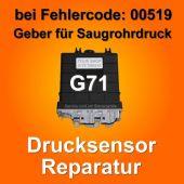 Drucksensor 100 kPa G71 MAP Saugrohrdruck Sensor 023906024T 023 906 024 T VW T4