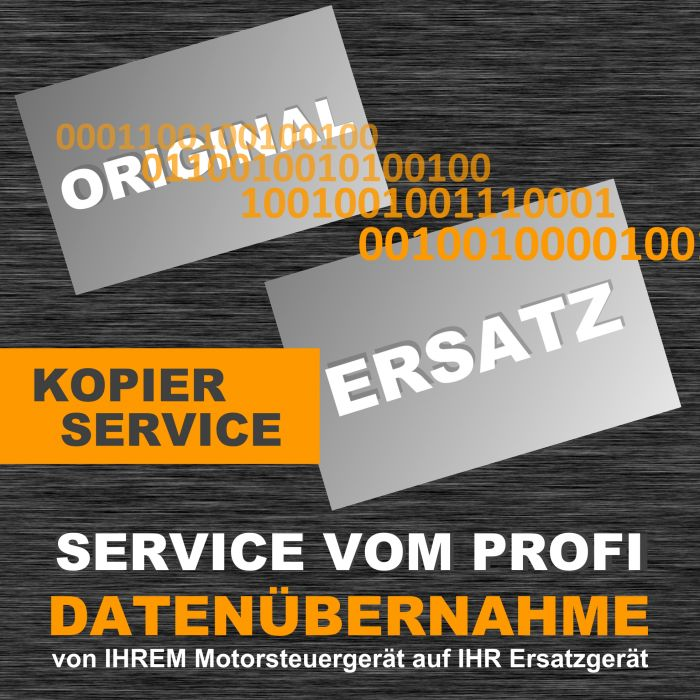 Datenübernahme / Datentransfer / Kopierservice für Suzuki EDC16C36