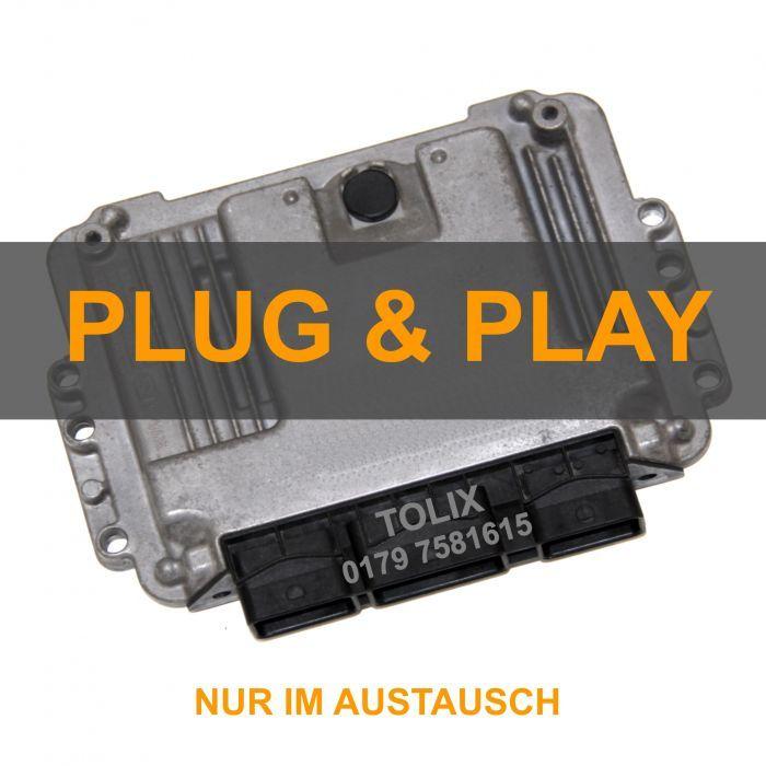 Plug&Play ALFA ROMEO / FIAT Motorsteuergerät EDC 16C39 im AUSTAUSCH inkl. Datenübernahme