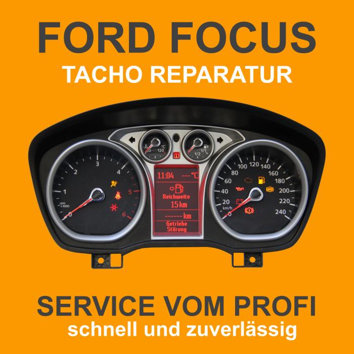 Ford Focus Tachoreparatur 6M2T