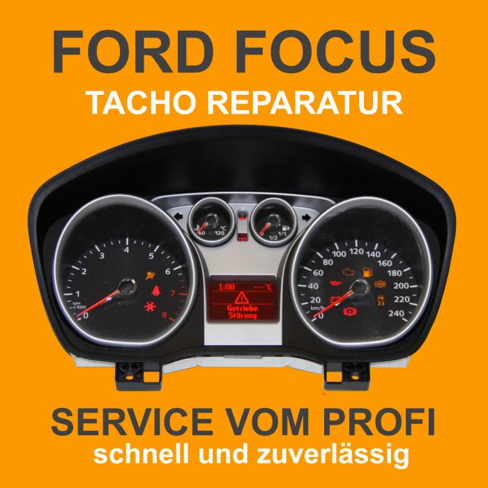 Ford Focus Tachoreparatur
