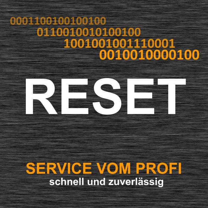 RESET Service für Renault S3000 Motorsteuergerät ECU
